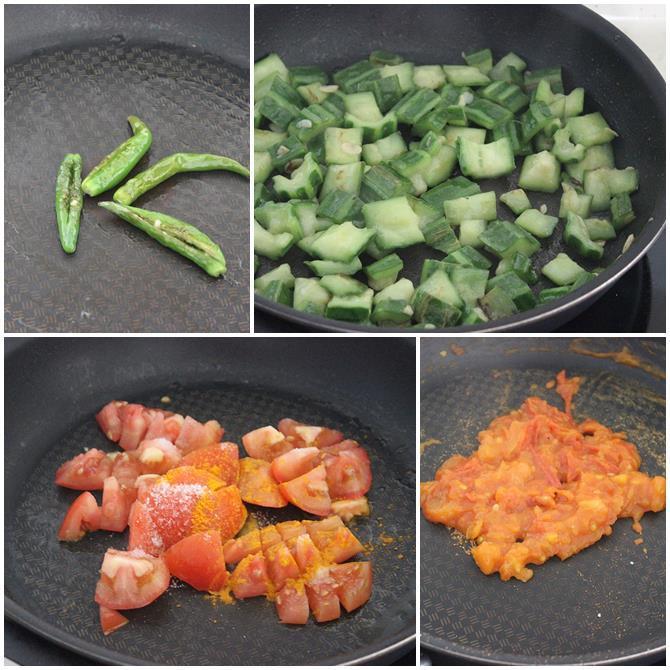 beerakaya tomato pachadi recipe