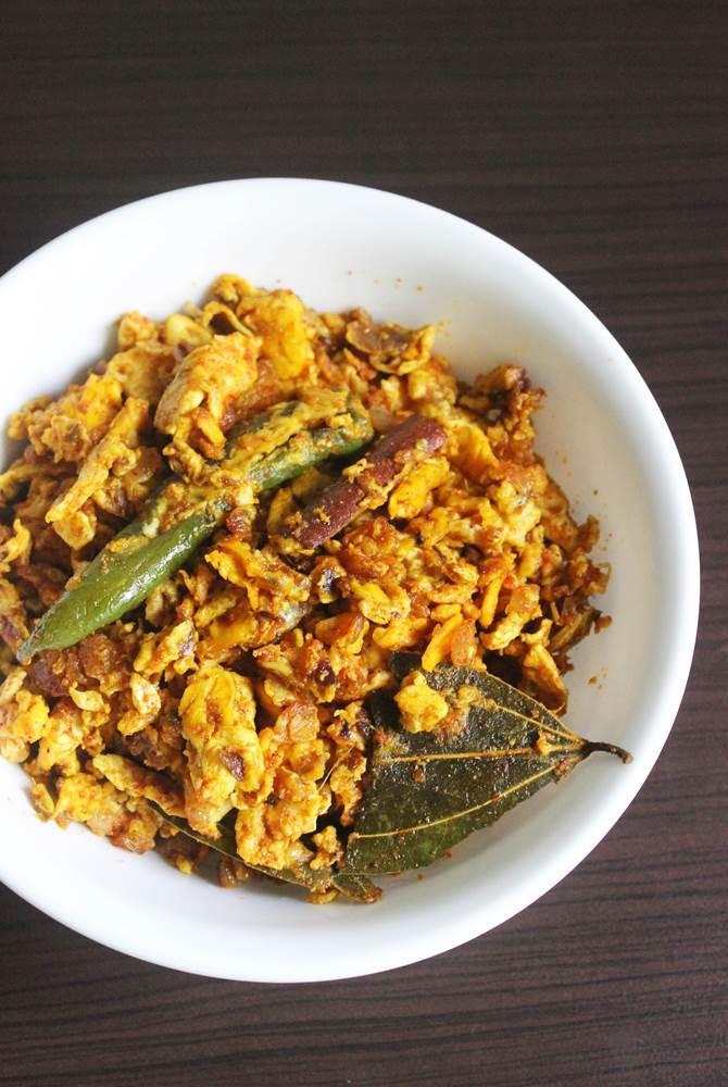 egg bhurji, egg porutu