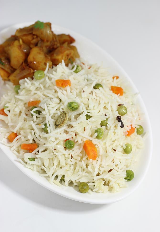 coconut milk rice swasthis recipes