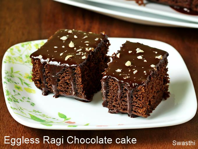 eggless ragi cake recipe