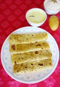 aloo methi paratha recipe