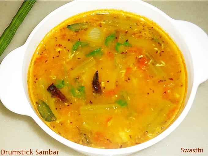 andhra style drumstick sambar