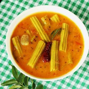 Drumstick sambar recipe | How to make drumstick sambar