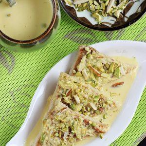 Shahi tukda recipe | How to make shahi tukda | Shahi tukra