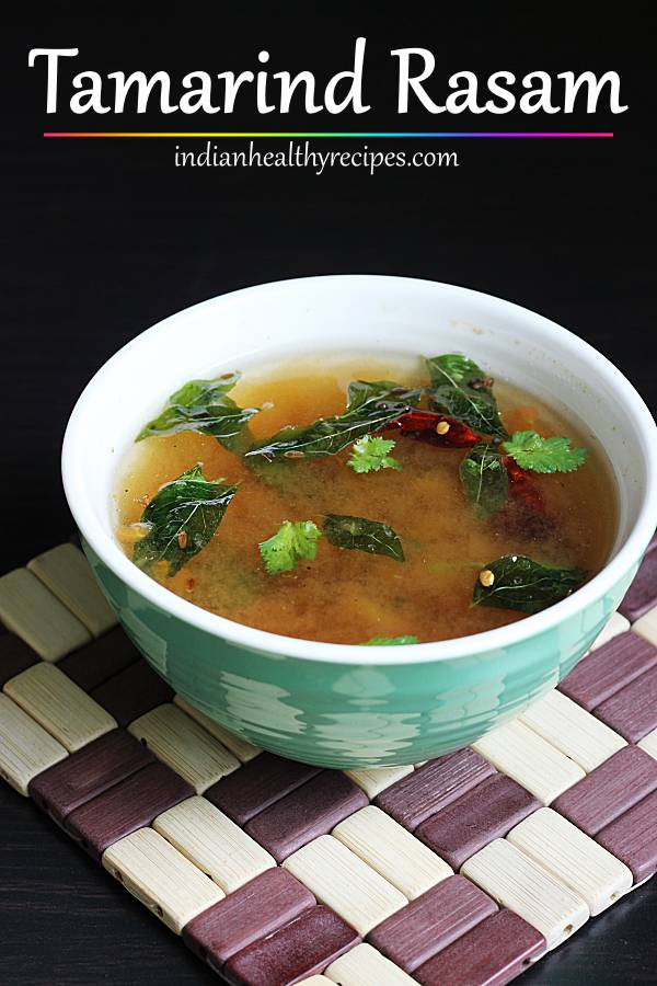Tamarind rasam without tomato | Charu recipe