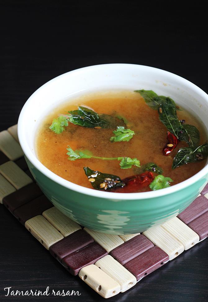 tamarind rasam recipe swasthis recipes