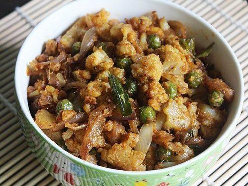 gobhi kheema recipe