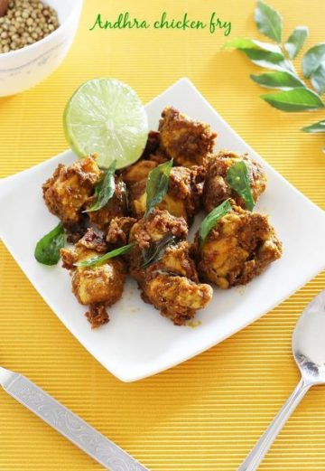 andhra chicken fry , kodi vepudu recipe