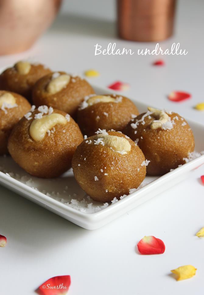 andhra bellam undrallu bellam kudumulu recipe