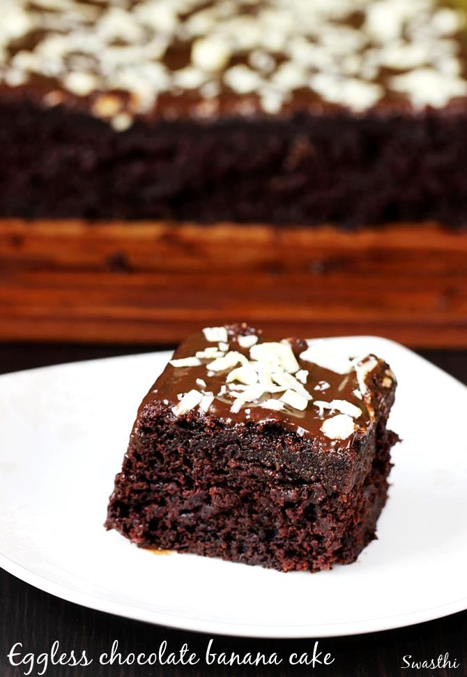 Chocolate Cake Without Eggs Recipe