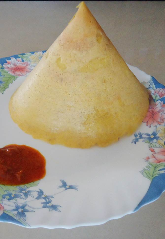 moong dal dosa, instant pesarratu recipe