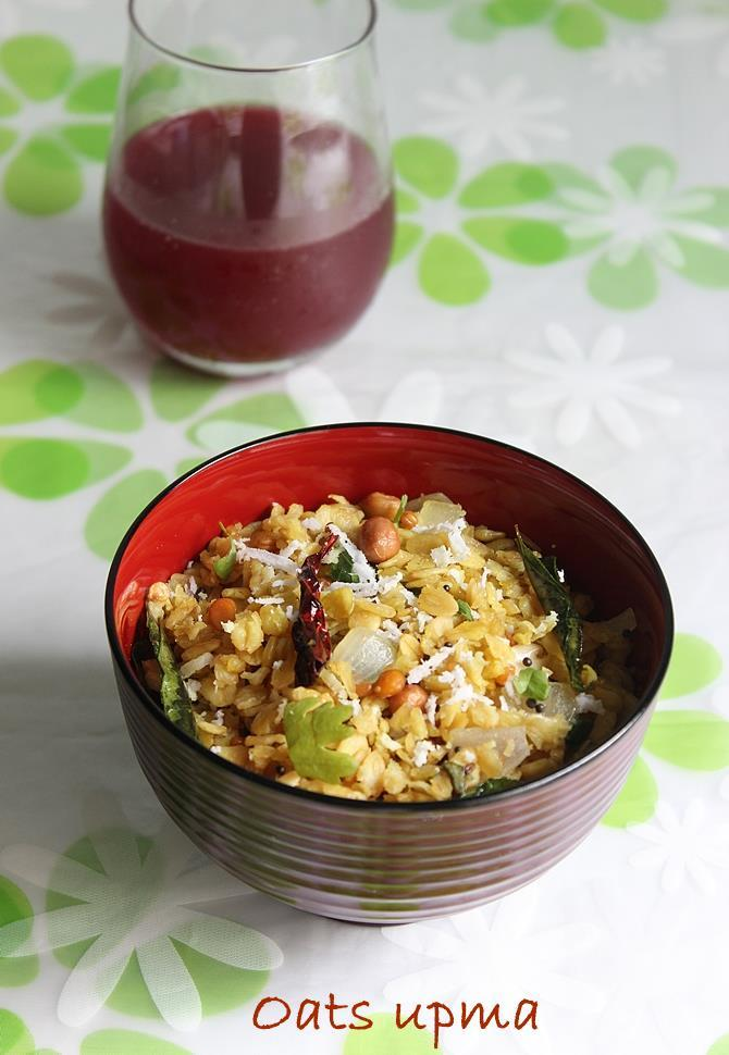 Oats upma recipe how to make oats upma recipe indian oats recipes learn to make oats upma recipe forumfinder Choice Image