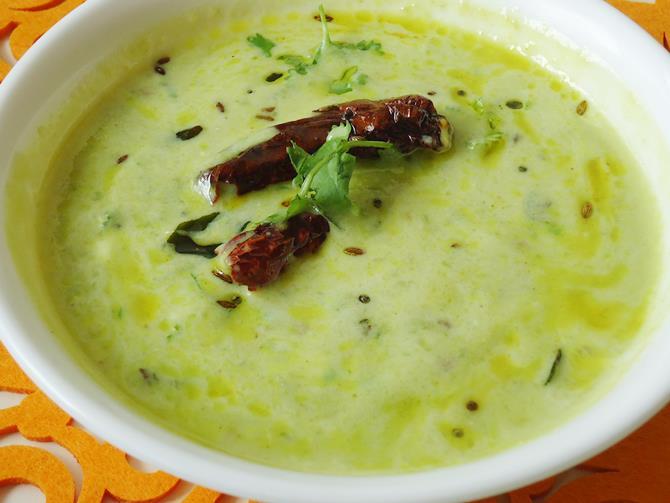 andhra potlakaya perugu pachadi recipe