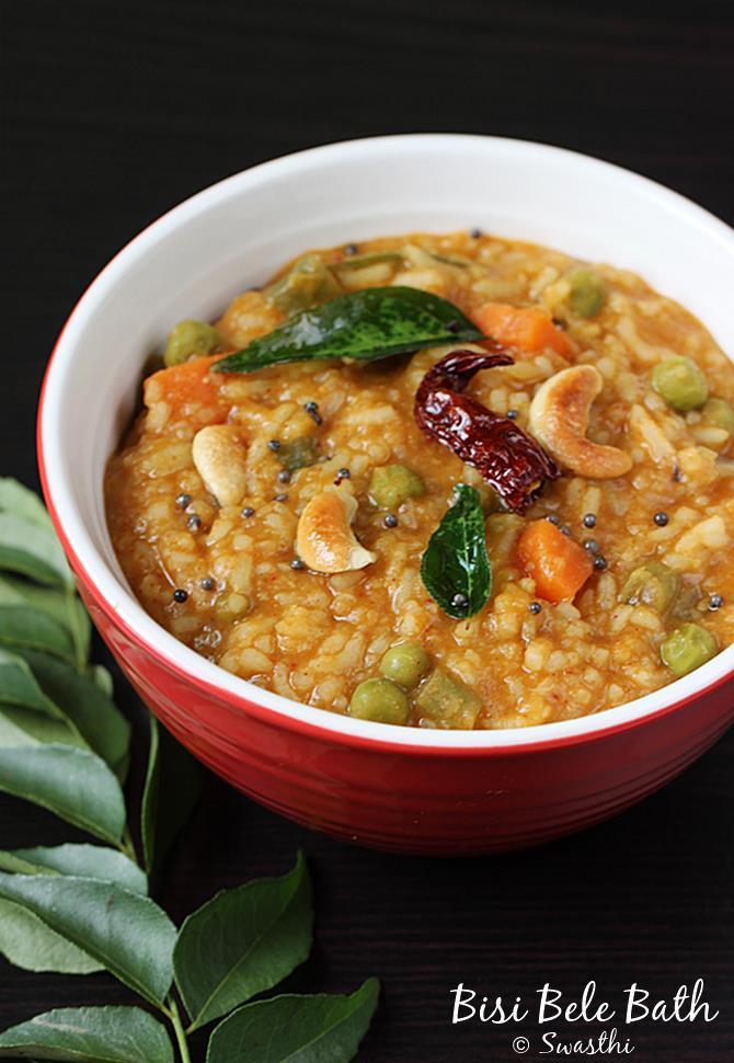 Bisi bele bath recipe karnataka style bisibelebath karnataka recipes bisi bele bath recipe forumfinder Image collections