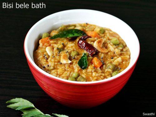 Bisi bele bath recipe karnataka style bisibelebath karnataka recipes forumfinder Gallery