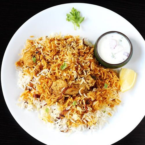 Chicken dum biryani recipe | How to make chicken dum biryani