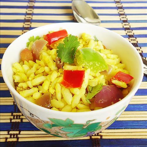 Puffed rice upma swasthis recipes