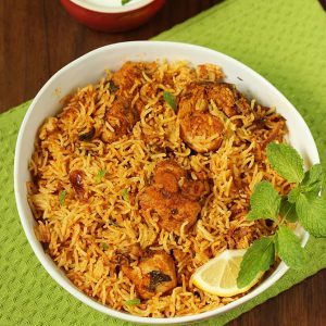 Chicken biryani recipe | Easy chicken biryani in pot or pressure cooker