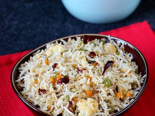 chilli garlic fried rice | how to make chilli garlic veg fried rice