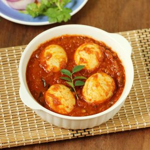 Egg curry recipe | How to make South Indian egg curry