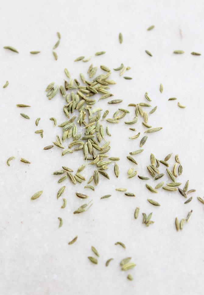 sombu or fennel seeds for making homemade masala powder