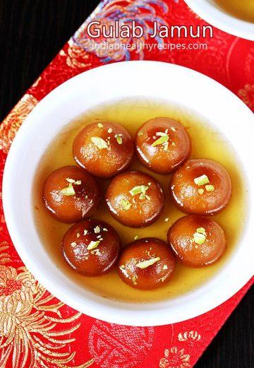 Gulab jamun recipe | How to make gulab jamun recipe with milk powder