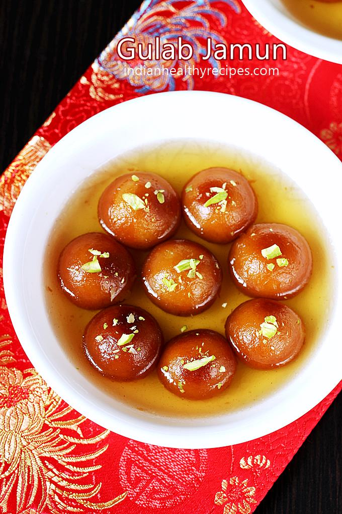 gulab jamun - soft moulth melting delicious sweet made for festivals & celebrations. #gulabjamun #gulabjamunrecipe