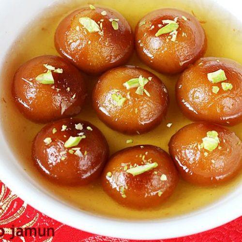 jamun indian dessert recipe Gulab jamun