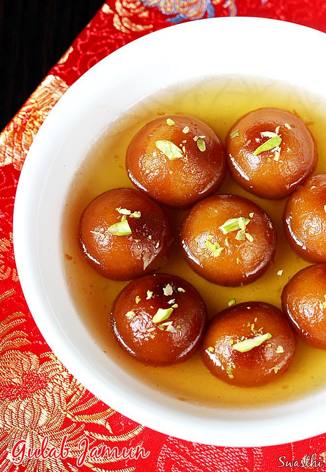 gulab jamun Product description to your door golden brown gulab jamun made from milk and dipped in.