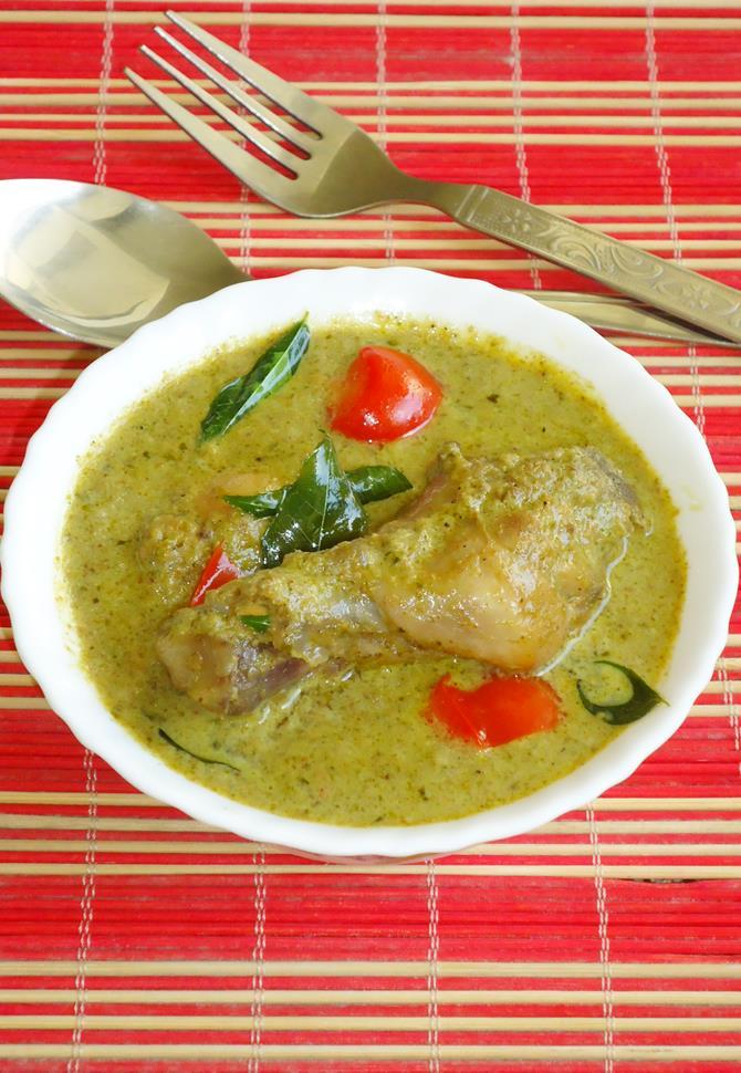 hariyali chicken recipe