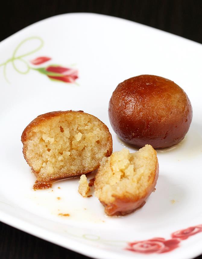 soft gulab jamun