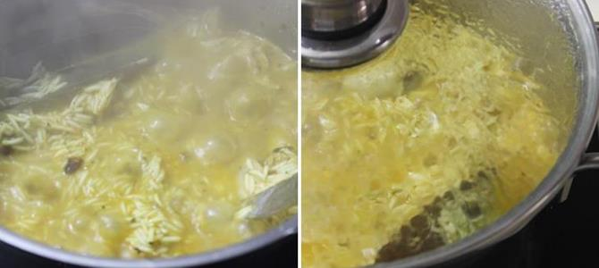 addition of kewra rose water for muslim chicken mutton biryani
