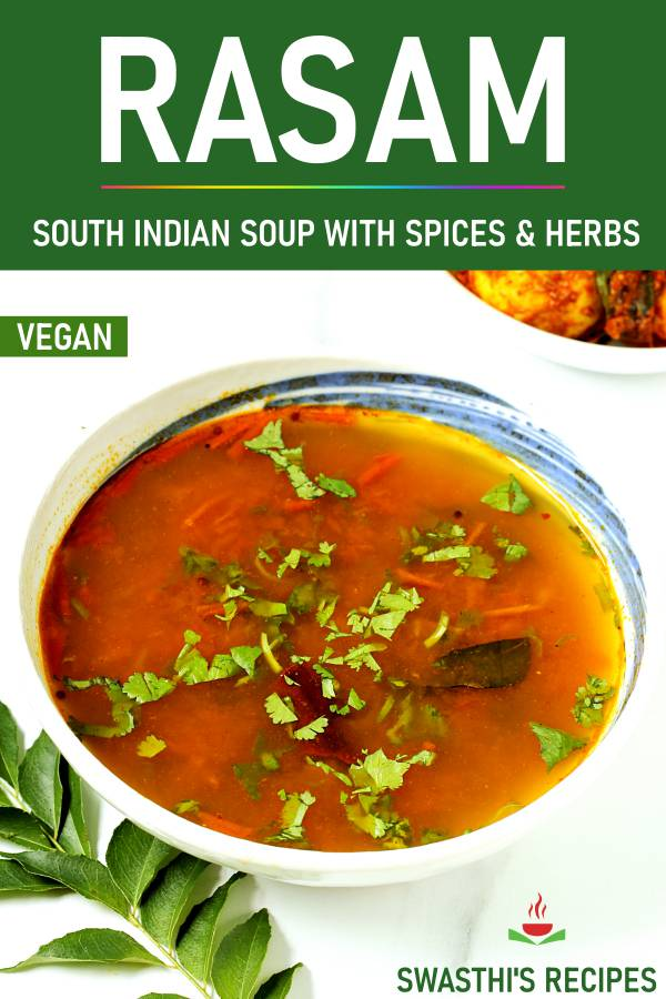Rasam recipe without rasam powder | How to make rasam
