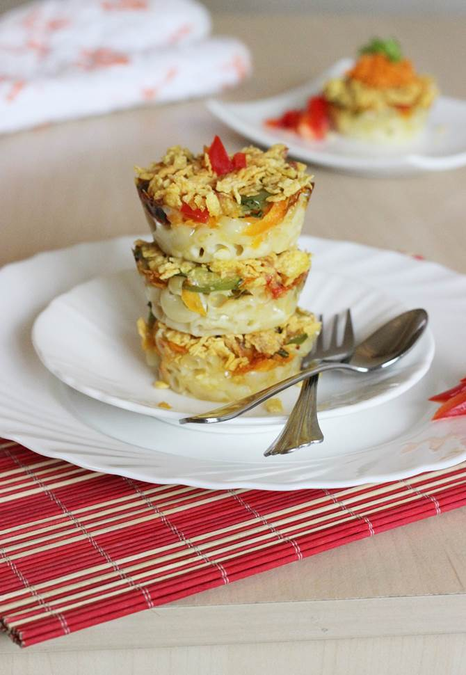 baked pasta muffins recipe