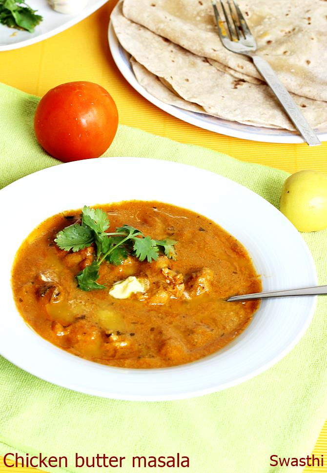 Chicken butter masala recipe indian butter chicken masala recipe chicken butter masala recipe forumfinder Image collections