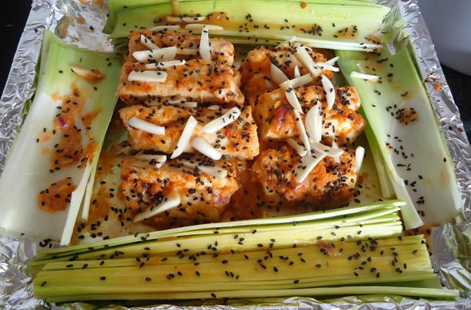 Baked fish chinese style recipe healthy baked fish recipe for How to cook baked fish