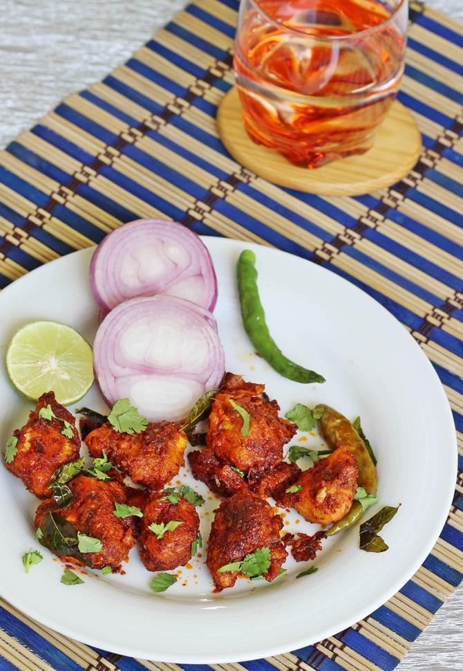 Chicken 65 Recipe Swasthi S Recipes