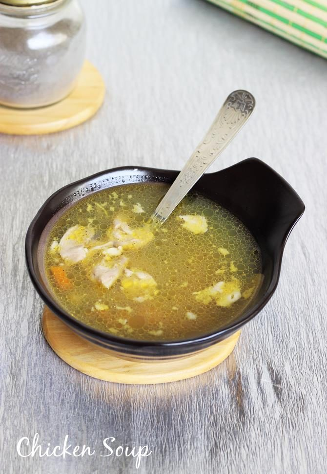 indian chicken soup recipe