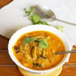 mushroom korma | mushroom kurma curry recipe
