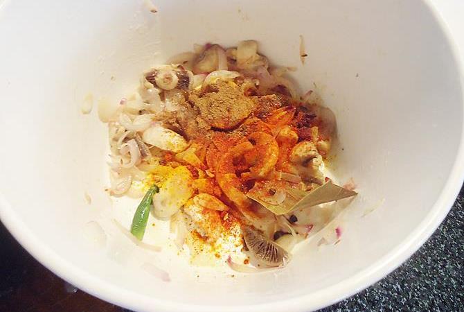 masala for mushroom korma
