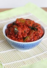 drumstick pickle, mullakaya pachadi