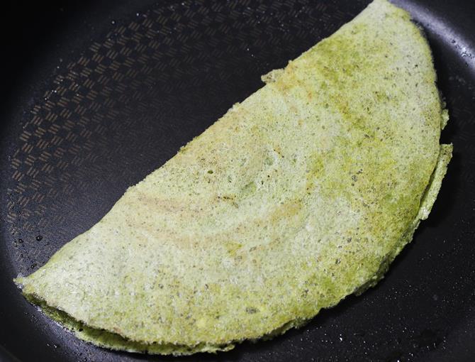 oats green gram dosa