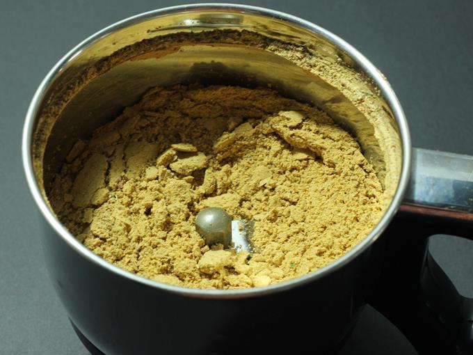blend fine powder