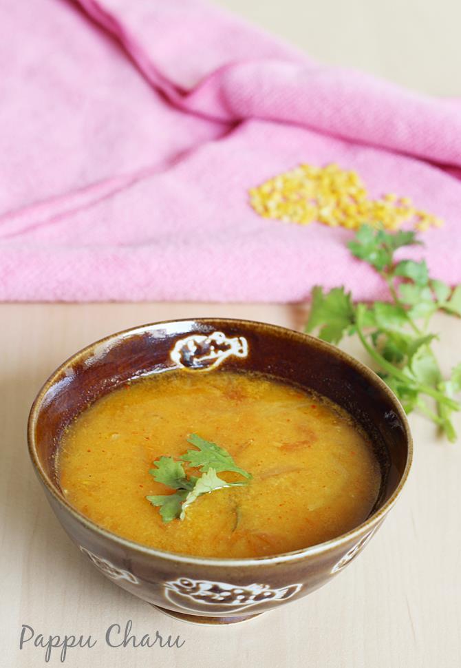 pappu charu recipe