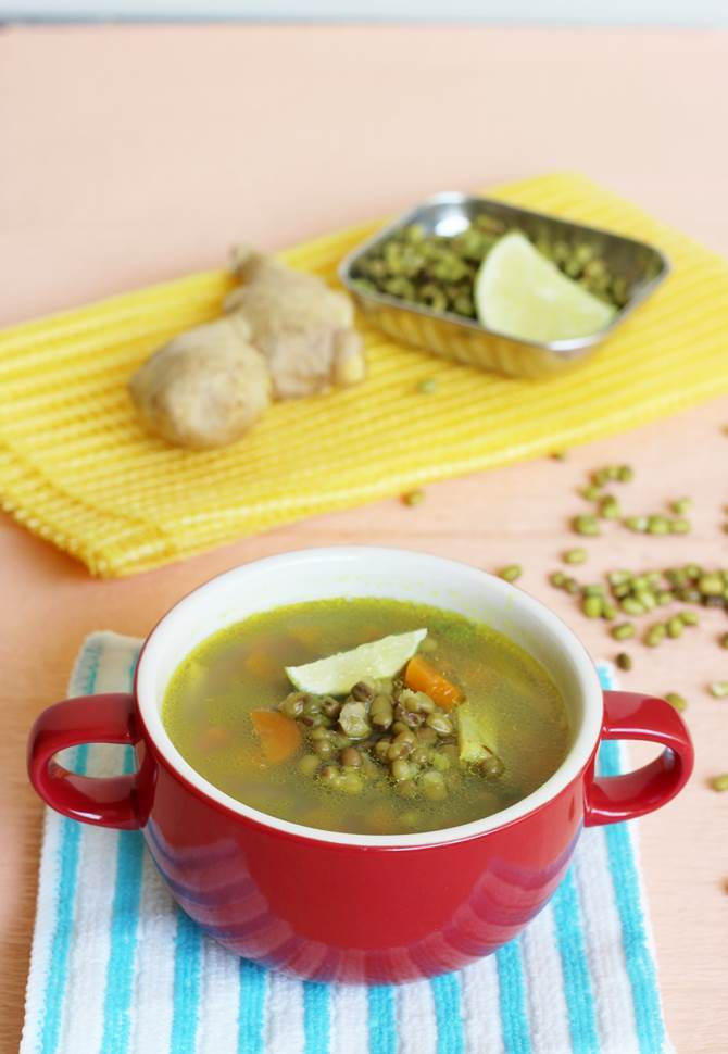 Mung bean detox soup easy homemade detox soup recipe moong bean detox soup recipe forumfinder Images