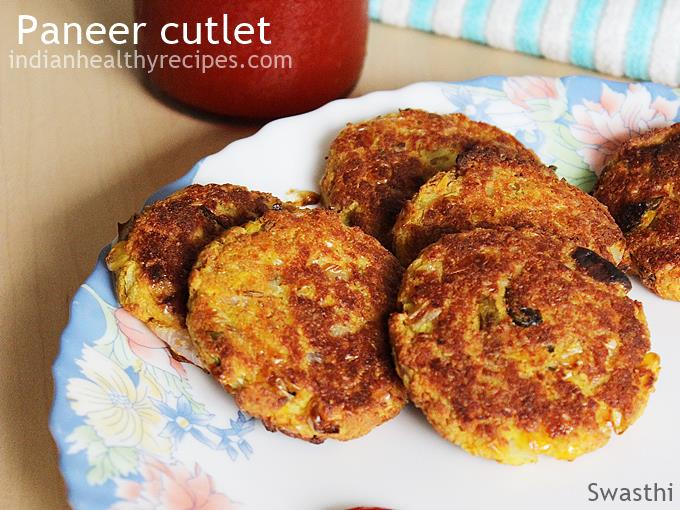 paneer cutlet paneer snacks recipes