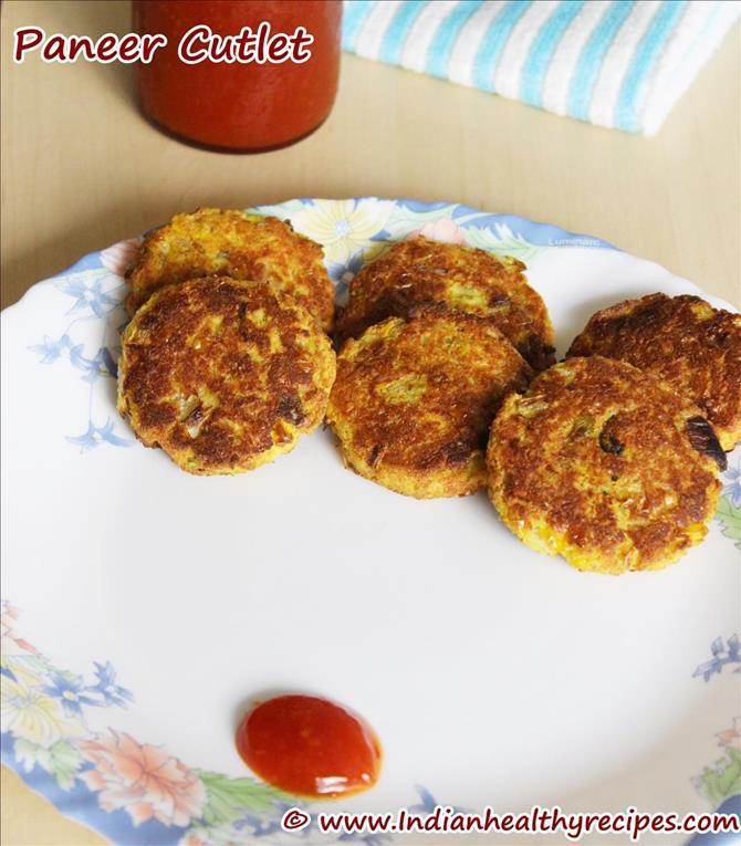 garnish delicious snack paneer tikki