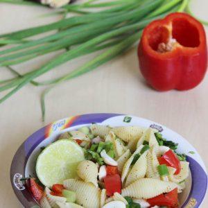 pasta chaat recipe | Indian kids pasta recipe | pasta salad