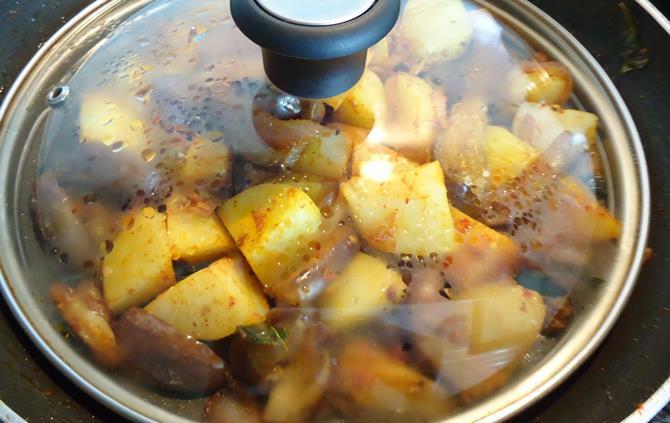 cook vankaya fry