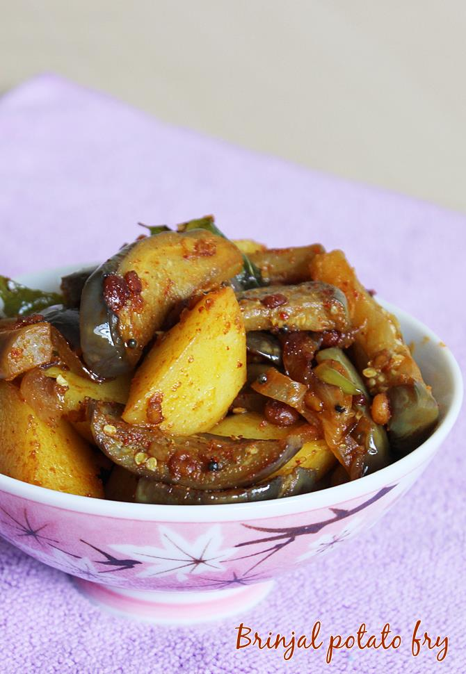 brinjal fry recipe vankaya fry
